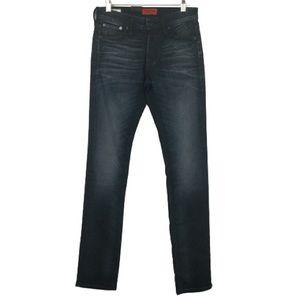 NWT Jack & Jones Glenn Slim Fit Jeans in Dark Wash